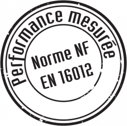icone performance mesurée norme NF EN 16012